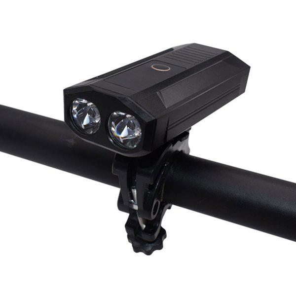 Headlight Bike Front Lamp Light Y18 Charging Integrated Bicycle Light Flashlight LED USB Rechargable Road Mtb 5200 MhA Dropship