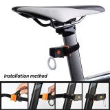Bicycle Light USB Rechargeable Bike Light Led Lamp Flashlight Tail Rear Cycling Lights for MTB Seatpost Bicycle Accessories