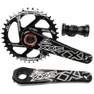 Mtb mountain bike integrated crank GXP XX1 X9 XO X01 Ultralight CNC alloy bicycle crank 30T 32 34T modified sprocket wheel