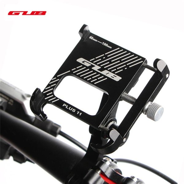 2020 New GUB PLUS 11 Aluminum Bicycle Phone Stand For 3.5-7 inch Multi-angle Rotatable Bike Phone Holder Motorcycle Handlebar