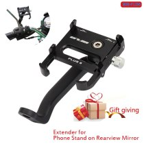 Universal Mobile Phone Holders Stands For Yamaha Motorcycle phone Mount holder gub Plus6 moto rearview mirror mount Phone holder