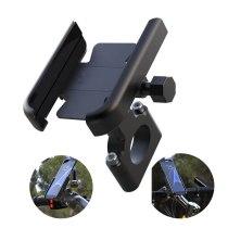 Motorcycle Aluminum Alloy Mobile Phone Holder Bike Bicycle Phone Holder for 4-7 inch Smartphone GPS 20-30mm Handlebar