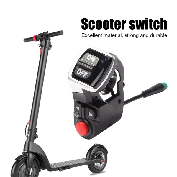 Electric Scooter Handlebar Switch E-scooter Turn Signals On/Off Button Light Switch for Kugoo M4 Pro Scooter Parts For adults