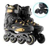 RS6 Inline Skates Professional Slalom Adult Roller Skating Shoes Sliding Free Skate Patins Size 35-46 Good As SEBA Sneakers