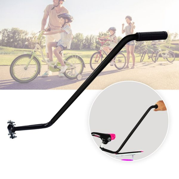 Bike/Bicycle Trainer Children Cycling Bike Safety Balance Push Handle Bike Training Handle For Kids Learning Bike New