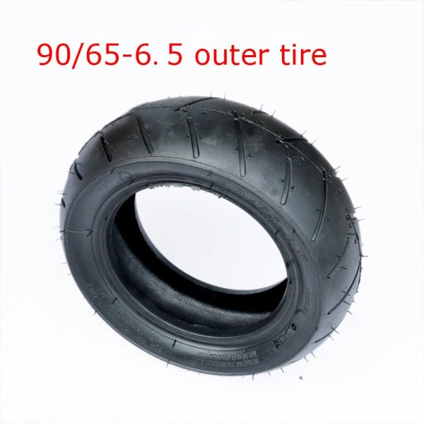 90/65-6.5 Front Vacuum Tire  Thickened Tubeless Tyrefor Mini Motorcycle 47cc Pocket Dilt Pit Bike