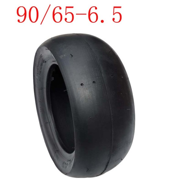 Slick Tyre 90/65-6.5 Tubeless Vacuum Tire for 47cc  Mini Pocket Bike Motorcycle Accessories
