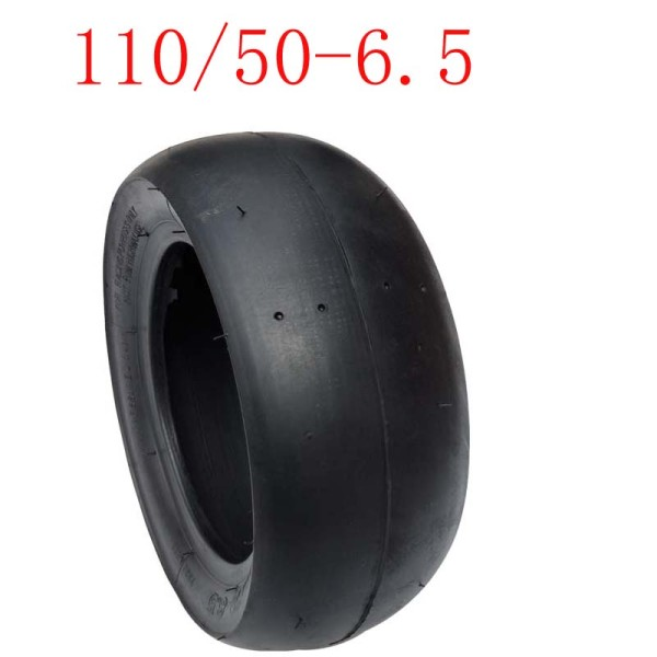Slick Tyre  110/50-6.5 Tubeless Vacuum Tire for 49cc Mini Pocket Bike Motorcycle Accessories