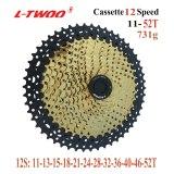 LTWOO Groupset LTWOO AT12 12S 12 speed shifter lever, rear derailleur, Cranksets 36T, Cassette 11-52T Golden Chain, Carbon cage