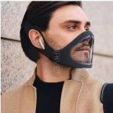 Removable Smart Transparent Mask Adjustable Reusable Mask Protective Gear