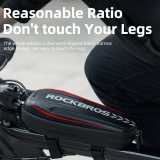ROCKBROS Universal Electric Scooter Head Handle Bag Hard Shell Bag Electric Scooter Bag for Xiaomi Bicycle bag Scooter Accessory