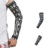 1PCS Unisex Short Arm Warmer for Mobile Phone Stretch Arm Bag Running Riding Sunscreen Armband Wrist Bag Cycling Arm Sleeves