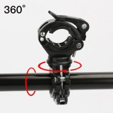 Lamp Holder Bicycle Flashlight Lamp Clip Front Lamp Holder Fixing Bracket Vehicle Clip Mountain Bike Riding Equipment Accessorie