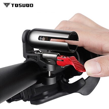TOSUOD Bicycle bell super loud mountain bike bell road car horn car bell double cannon bicycle accessories equipment