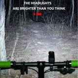 T6 LED Bicycle Light 10W 800LM USB Rechargeable Power Display MTB Mountain Road Bike Front Lamp Flashlight Cycling Equipment