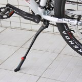 Alloy MTB Bicycle Bike Kickstand Parking Racks Bike Support Leg Side Stand Foot Brace 24''-27.5'' Adjustable Bicycle Accessories