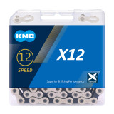 KMC 12 Speed 126L MTB Mountain Bike Bicycle Chain 12s Golden Chain with Magic Link with Original box