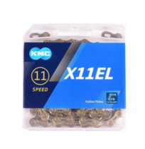 KMC.[X11EL Silver]. 116 Links 10 Speed Bicycle Training Shift Chain for Road / Mountain Bike