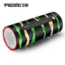 FEDOG F-330  Flashlight Audio Bicycle Wireless Bluetooth Riding Outdoor Running Radio 200 meters long shot 10 ho