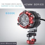 SPIRIT BEAST LED Spotlights Modified Accessories External Headlamps Motorcycle Auxiliary Lights Highlight Super Bright Lights