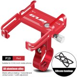 GUB P10  Aluminum Bike Phone Holder For 3.5  to 7.5  Phone MTB Bicycle Stand Scooter Motorcycle Mount Support Handlebar Clips