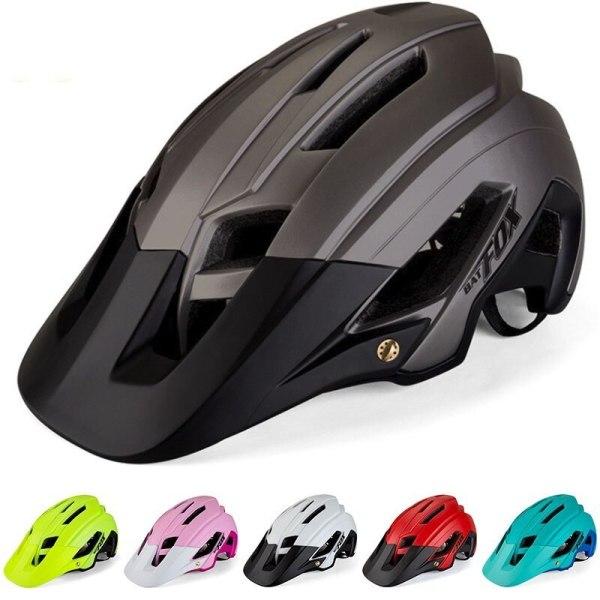 BATFOX Mountain Riding Bicycle Helmet Man Woman Ultralight MTB Bike Helmet BAT FOX DH AM Bicycle Safety Helmet