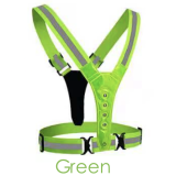 Visibility Neon Vest Reflective Belt Safety Vest Fit for Running Cycling Sports