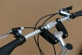 Aluminum Alloy Folding Handlebars Bicycle Foldable Horizontal Handlebar Electric Bicycle Scooter Handlebar 25.4mm 31.8mm