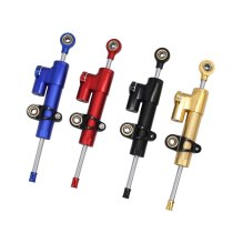 Motorcycle Stabilizer Steering Damper Aluminum Alloy Shock Absorber Direction Damper Accessories Steering Stabilizer Universal