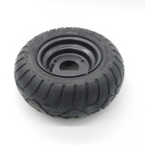13X5.00-6 Inch Tubeless Tire With Steel Rim Fit For Fuel Electric 4 Racing Wheels Buggy Karting Beach Car ATV QUAD Go kart Parts