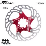 IIIPRO AR18 Mountain Bike Stainless Steel Skid Disc 140mm 160mm 180mm 203mm Thin And Light Brake Pads Floating Rotors Bicycle Parts