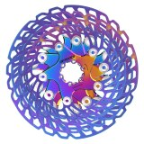 IIIPRO AR18 Bicycle Colorful Brake Disc Mountain Bike Aluminum Alloy Six Nails 203/180/160/140mm Road Floating Rotor Ultralight Parts