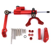 For Kawasaki Z900 motorcycle shock absorber direction damping bracket steering buffer pull rule titanium size