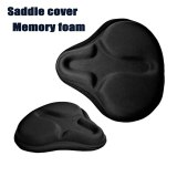 FMFXTR Spandex Fiber Silicone Bicycle Saddle Cover Large Wide Big Butt Mountain Bike Cushion Cover Road Bike Seat Cover 280x260mm