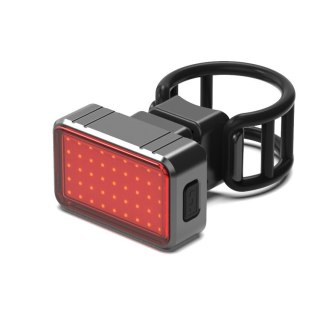 BK820 100 Lumens Bicycle Rear Light USB Rechargeable Cycling LED Tail Light Waterproof MTB Road Bike Tail Light Bicycle Accessories