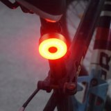 Bike Rear Light Bicycle Flasher Light USB Charge Bike Seatpost Taillight Sport Cycling Helmet Warming Lights MTB Road Back Lamps