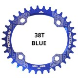 MOTSUV 104BCD Oval Narrow Wide Chainring MTB Mountain bike bicycle 32T 34T 36T 38T crankset Single Tooth plate Parts 104 BCD
