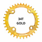 MOTSUV 104BCD Round Narrow Wide Chainring MTB Mountain bike bicycle 104BCD 32T 34T 36T 38T crankset Tooth plate Parts 104 BCD