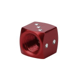 12*12*12mm  1pcs Dice Dust Valve Caps Car Motorcycles Electric Cars 80's Novelty Fun Retro Tire Cap for all kinds of cars Y7