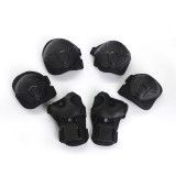 Lixada 6PC Safety Brace Kids Child Elbow Knee Pads Cycling Roller Skating Skateboard Elbow Knee Hands Wrist Protection Guard Pad