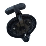 MTB Wide Big Bum Bike Bicycle Gel Cruiser Extra Sporty Soft Pad Saddles Tricycle Electric Bike Cushion Comfortable w/ Back Rest