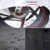 Moto Motorcycle Cover Waterproof Dustproof Outdoor Indoor Motorcycle Protection Cover for Bicycle Motorcycle Accessories