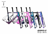 ELVES QUENDI Disk road bike frame carbon fiber bicycle frame, aero-dynamics , aerodynamics