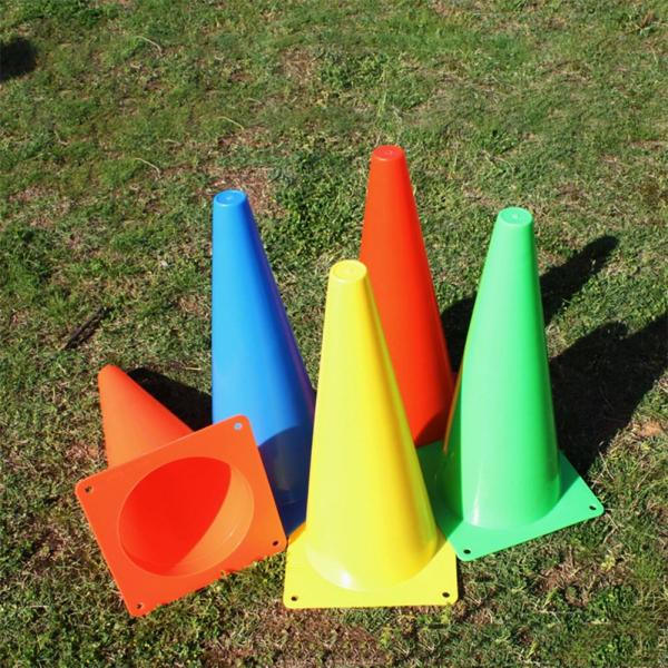 23cm Soccer Football Basketball Training Anti-wind Sign Cone Barrier Equipment Sport practicing Training Tools fit tennis soccer