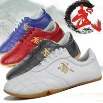 Major  Tai Chi  shoes, Sole Soft Leather Ox Tendon Bottom Practice Kung fu Shoe,  Martial Art Special-purpose Shoes