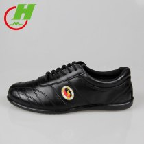 Cowhide Leather  Tai Chi Shoes Martial Art Performance  Shoes Taiji Boxing Practice Shoes Free Flexible Four Colors