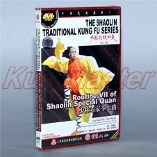 Disc DVD The Shaolin Traditinal Kung Fu Routine VII Of Shaolin Special Quan English Subtitles