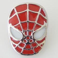 20MM Spider-Man se ajusta con esmalte rojo KB7043 se ajusta a la joyería