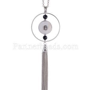 Ожерелье высокого качества с цепочкой 80CM KC0982 подходят 18mm куски защелки ювелирные изделия