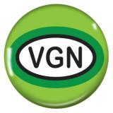 20MM Vegetarian Environmental protection Painted enamel metal snaps C5085 green